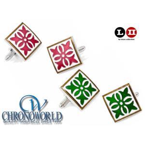 カフスボタン ブランド L2 by LOMA Gothic Medallion Cufflinks ゴシックメダリオンカフス(宅)|chronoworldjapan