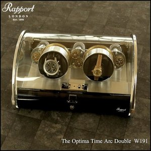 Rapport The Optima Time Arc Double  W191 腕時計 ワインダー(宅)|chronoworldjapan