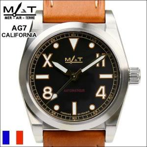 腕時計 メンズ ブランド MATWATCHES 腕時計 マットウォッチAG7 カルフォルニア  Automatic 100M 自動巻き ミリタリーウォッチ(宅)|chronoworldjapan
