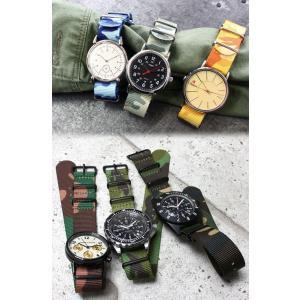 腕時計 ベルト バンド HDT DESIGN カモフラージュ NATOタイプストラップ 20mm(メ)|chronoworldjapan|04