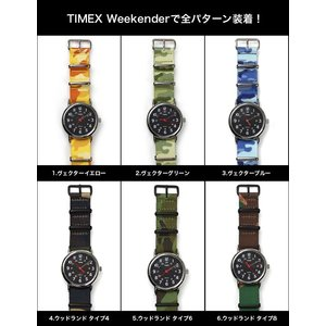 腕時計 ベルト バンド HDT DESIGN カモフラージュ NATOタイプストラップ 20mm(メ)|chronoworldjapan|05