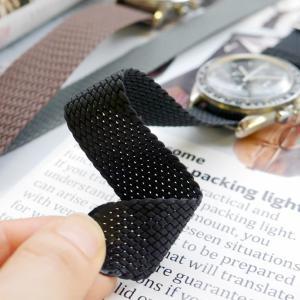 腕時計 ベルト バンド AIR NATO PERLON STRAP エアーナトー パーロン ストラップ 16mm18mm20mm22mm24mm(メ)|chronoworldjapan|02
