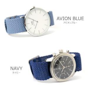 腕時計 ベルト バンド AIR NATO PERLON STRAP エアーナトー パーロン ストラップ 16mm18mm20mm22mm24mm(メ)|chronoworldjapan|05