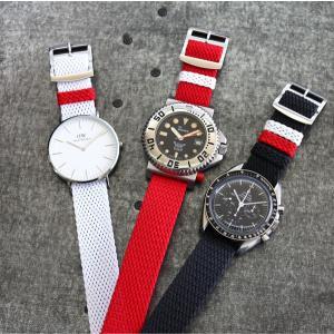 腕時計 ベルト バンド チャリティー パーロン ストラップ AIR NATO PERLON STRAP 20mm(メ)|chronoworldjapan|03