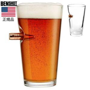 ビアグラス BENSHOT(ベンショット)Beer glass 16oz(454ml) パイントグラス 米国製 ハンドメイド 送料無料|chronoworldjapan