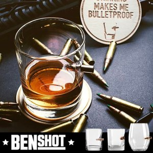 BENSHOT(ベンショット)Whisky glass ウィスキーグラス 11oz(325ml) ワイングラス(443ml) 米国製 ハンドメイド|chronoworldjapan