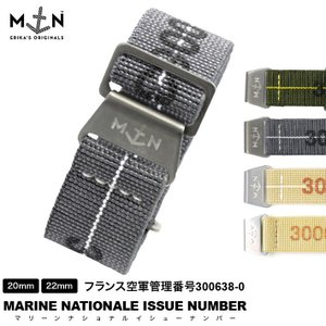 時計 ベルト 腕時計 時計バンド MN STRAP MARINE NATIONAL ISSU NUMBER マリーンナショナル イシューナンバー 20mm 22mm|chronoworldjapan