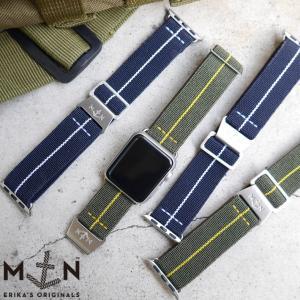 Apple Watch 時計 ベルト MN STRAP MARINE NATIONAL マリーンナショナル MNストラップ for Apple Watch Series2/3/4|chronoworldjapan