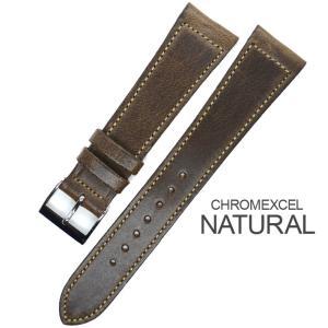 バネ棒付き 時計 ベルト バンド Accurate Form アキュレイトフォルム Horween leather belt ホーウィン レザーベルト|chronoworldjapan|04