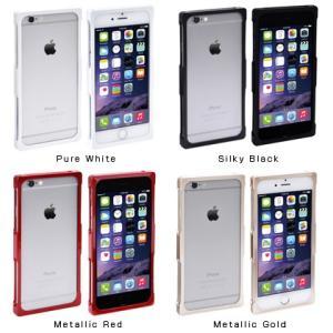 iPhone6s / 6 用 アルミバンパーケース RECTA|chu-konomori