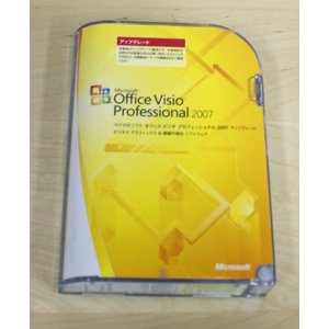 (中古)Microsoft Office Visio Professional 2007 アップグレード [CD-ROM]