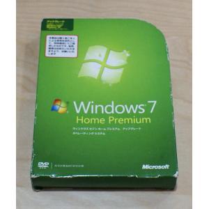 (中古)Windows7 Home Premium アップグレード版 (本数限定優待価格)
