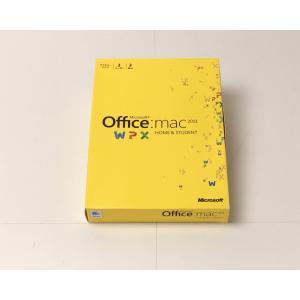 (中古)Microsoft Office for Mac Home and Student 2011 ファミリーパック [パッケージ] (PC3台/1ライセンス)