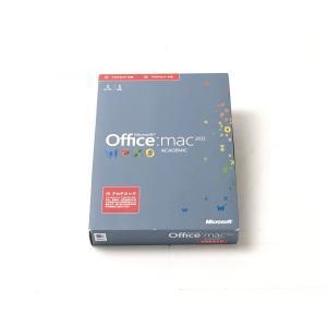 (中古)Microsoft Office for Mac Academic 2011 [パッケージ] [DVD-ROM]|chu-konomori