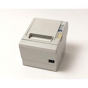 (優良中古)EPSON レシートプリンタ TM-T883(RS232C/80mm)ホワイト(電源別売)|chu-konomori