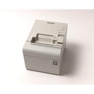 (優良中古)レシートプリンタ EPSON TM-T90KP(LAN/80mm)ホワイト|chu-konomori
