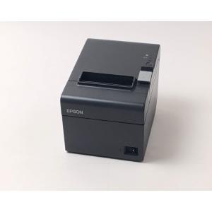 (中古)EPSON レシートプリンタ TM-T202(LAN/80mm)ブラック|chu-konomori