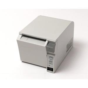 (中古)EPSON レシートプリンタ TM-T70(USB/80mm)ホワイト|chu-konomori