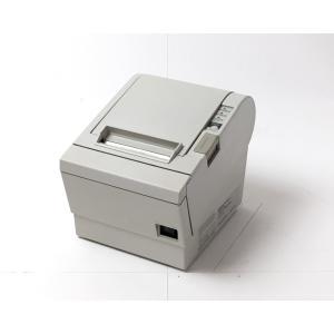 (中古)EPSON レシートプリンタ TM-T882 (RS232C/80mm)ホワイト(電源別売)|chu-konomori