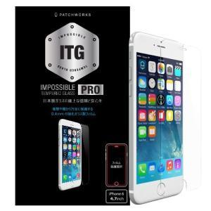 (新品)PATCHWORKS ITG PRO - Impossible Tempered Glass for iPhone 6 (ガラスフィルム/光沢)|chu-konomori