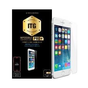 (新品)PATCHWORKS ITG PRO Plus - Impossible Tempered Glass for iPhone 6 Plus(ガラスフィルム/光沢)|chu-konomori