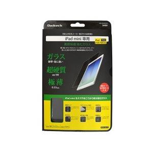 【新品】スタンダードナチュラルクリアiPad mini/mini2(Retina)/mini3 対応 画面保護 強化ガラス|chu-konomori