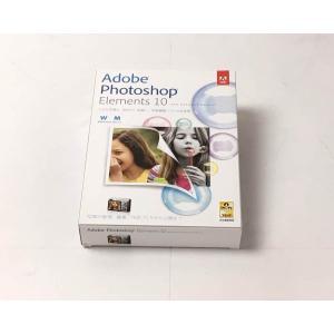 (中古)Adobe Photoshop Elements 10 日本語版 Windows/Macintosh版|chu-konomori