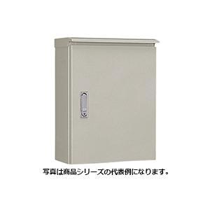 日東工業 OR16-45 OR形 鉄製 屋外用制御盤キャビネット 鉄製基板付 ライトベージュ塗装|chuai