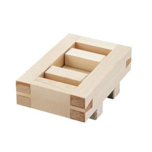 桧押し型 箱寿司 06103