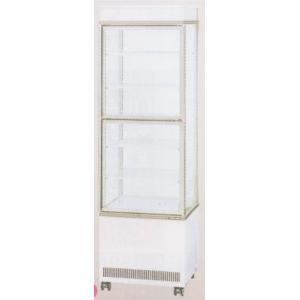送料無料 新品 サンデン冷蔵ショーケース(4面ガラス)(220L) AGV-400X chubo1ban