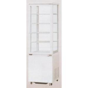 送料無料 新品 サンデン冷蔵ショーケース(4面ガラス)(96L) AGV-90X chubo1ban