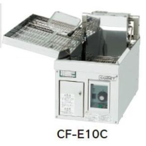 送料無料 新品 コメットカトウ フライヤー電気式W300*D600*H300 CF-E10C chubo1ban