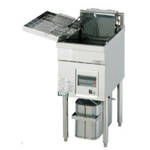 送料無料 新品 コメットカトウ フライヤー電気式W350*D600*H800 CF2-E13 chubo1ban