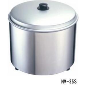 送料無料 新品 熱研 すしシャリウォーマー(3.5升)ステンレス NV-35S  厨房一番|chubo1ban