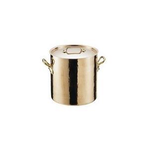 寸胴鍋 モービル COPPER スズメッキ 寸胴鍋 2148.32 32cm(7-0035-0801)|chubokoumu