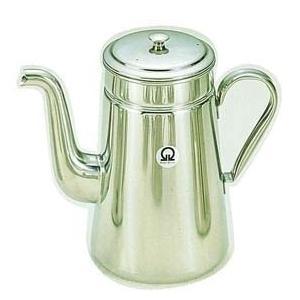 送料無料 コーヒー用品 珈琲器具 コーヒー器具 ●商品名:SA18-8コーヒーポット #18 ツル首...