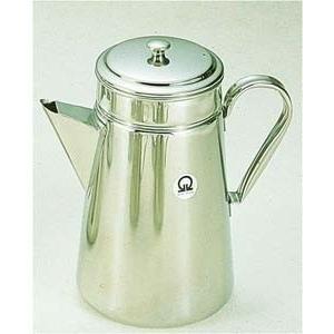 コーヒー用品 珈琲器具 コーヒー器具 ●商品名:SA18-8コーヒーポット #18 三角口[電磁調理...