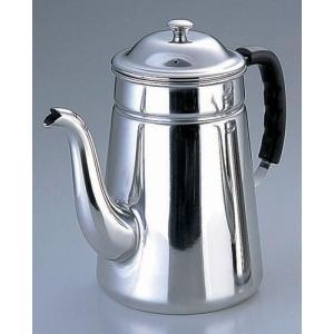 コーヒー用品 珈琲器具 コーヒー器具 ●商品名:SA18-8プラハンドル コーヒーポット #15[電...