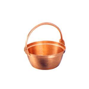 山菜鍋 銅製(スズ引き無し)27cm chubonoie
