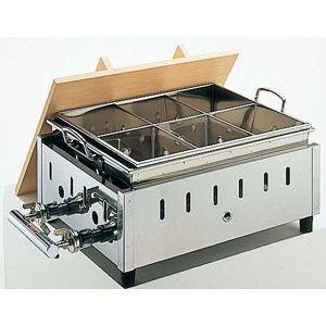 おでん鍋 湯煎式 4ッ切 460mm OY-14|chubonoie