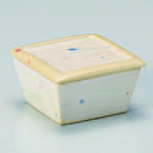 乱三彩蓋付珍味 115-15-073|chubonoie