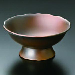 黒彩花形高台小鉢 066-17-023|chubonoie