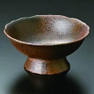 古備前花形高台小鉢 066-18-023|chubonoie