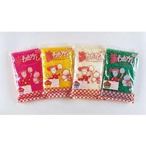 わた菓子用ザラメ 夢わたがし イチゴ (1kg×20袋入)の商品画像|ナビ