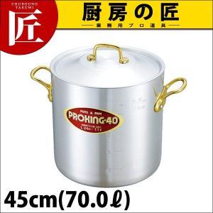寸胴鍋 プロキング 45cm(70.0L)|chubonotakumi