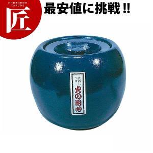 陶器 火消し壺 丸 大 chubonotakumi