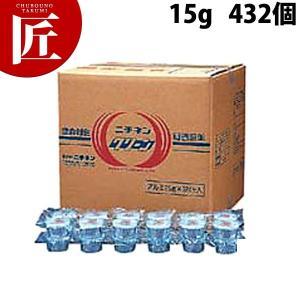 ニチネンクリーン アルミ容器入り  CA-15g  432個入り|chubonotakumi