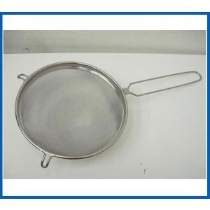 未使用品 共柄ストレーナー25cm Φ250x528x75 調理小物|chuboutokunekan
