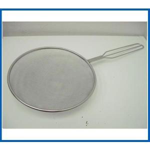未使用品 ステンレス背油漉し Φ230x513 調理小物|chuboutokunekan