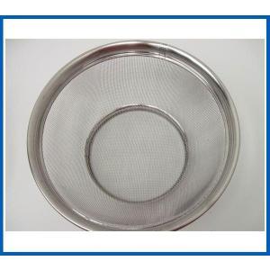 未使用品 ステンレス浅型ざる28cm Φ280x97 調理小物|chuboutokunekan